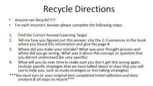 recycle directions