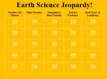 earth jeopardy