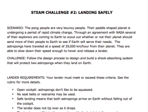 STEAM 2: Landing Safely