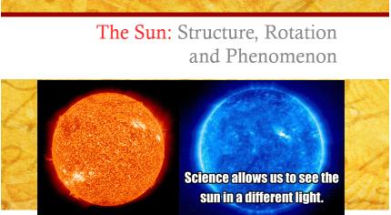 Sun Notes