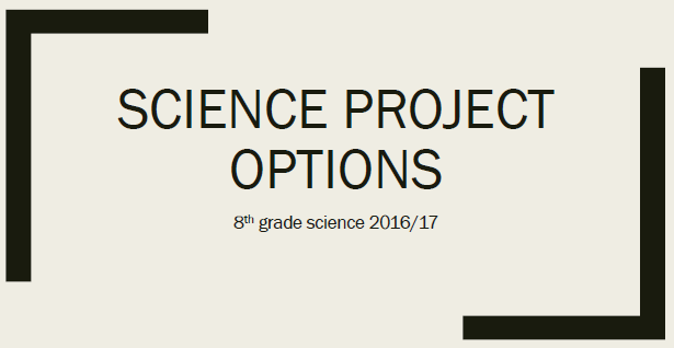 science-project-options