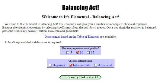Balancing Practice