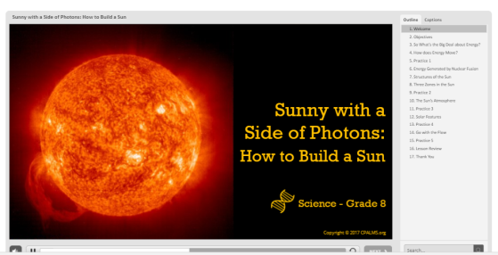 Sunny with a side of photons