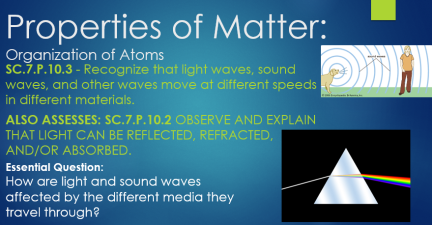 prop of matter waves