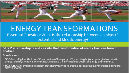 Energy Transformation ship