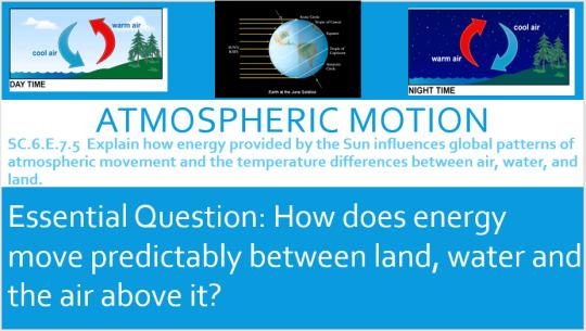 atmospheric movement